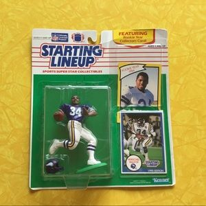 Starting Lineup, Herschel Walker, 1990. NIB